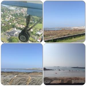 First sight of Guernsey